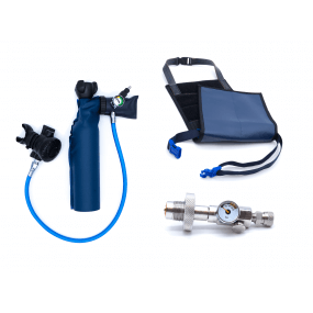MiniDive Pro (0,5 L) + DIN Filling station + Harness