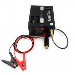 2 MiniDive Evo+ (0.35 L / 21 cu in) + 12 V MiniComp