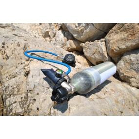 MiniDive Carbon Max 2 L (122 cu in) + Harness