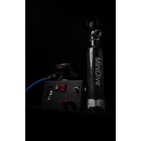 MiniDive Carbon (0.5 L / 30 cu in) + MiniComp + Harness