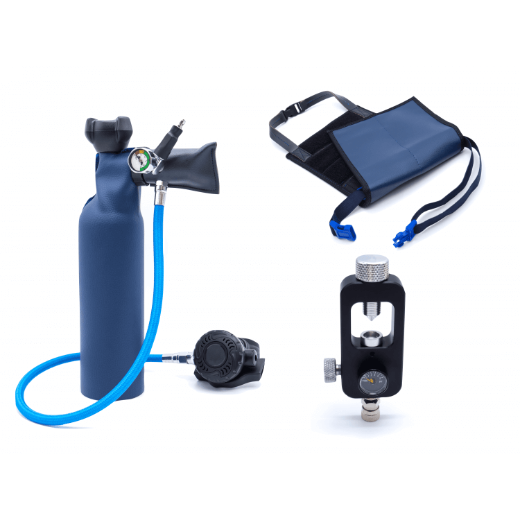 MiniDive Pro+ (0,8 L) + Yoke Filling station + Harnais (Refurbished)