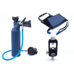 MiniDive Pro+ (0,8 L) + Station de remplissage Etrier + Harnais (Reconditionnée)