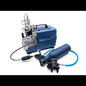 MiniDive Pro+ (0,8 L) + MiniComp + Harnais (Reconditionné)