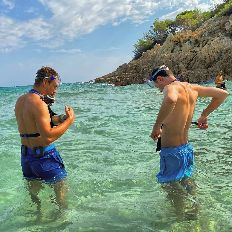 🤿💦  #dive #minidive #blue #adventure #fun #sea #summer #session #short #happy #underwater #water #scuba #sttropez